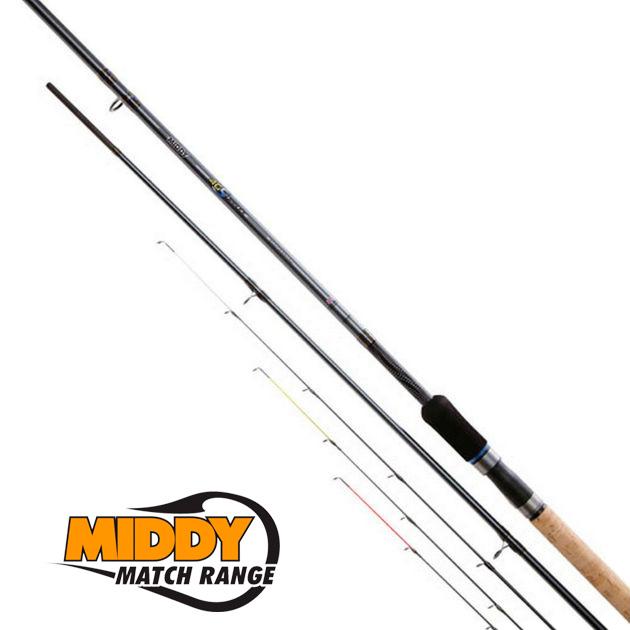 Удилище фидерное MIDDY 4GS 360 Feeder Rod 12'  (3,6мт 20-80гр) 3 хлыста