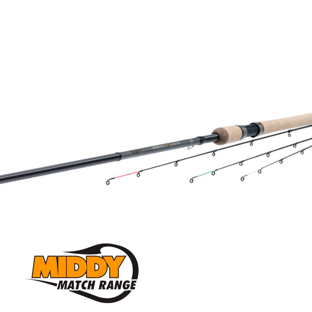 20034 удилище MIDDY Nano-Core XK55-2 World Pro Feeder Rod 11ft 2pc(3,3мт7-60гр)3 хлыста