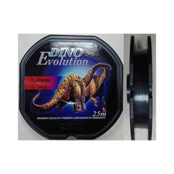Леска мононить Mikado DINO EVOLUTION 0,14 (25 м) - 3.30 кг.