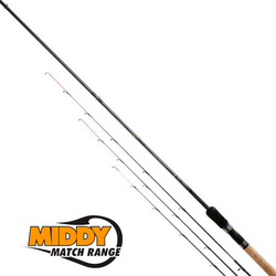 Удилище фидерное MIDDY 4GS Snake-Lake Feeder Rod 9' (2,7мт 7-40гр) 3 хлыста