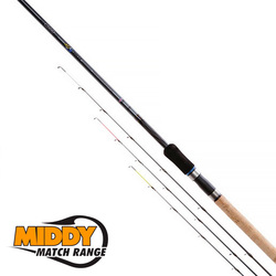 Удилище фидерное MIDDY 4GS Micro Muscle Feeder Rod 10' (3,0мт 10-45) 3 хлыста