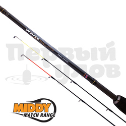 20038 удилище MIDDY White Knuckle CX Feeder Rod  (2,45мт 7-40гр) 2 хлыста