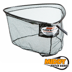 "20378 сетка для подсачека MIDDY Match Black Ltx 22""/55см Straight Front Net"