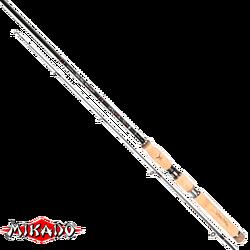 "Спининг штекерный ""Mikado"" SAKANA HANTA Medium Spin 240 ( 5-25 гр.) Carbon"