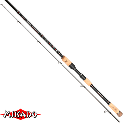 "Спининг штекерный ""Mikado"" SAKANA HANTA Medium Heavy Spin 240 ( 10-30 гр.) Carbon"