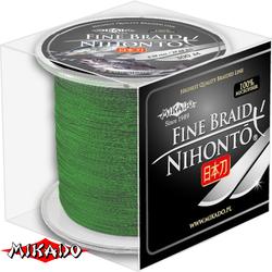 "Плетеный шнур ""Mikado"" NIHONTO GREEN 0,10 (300м)"