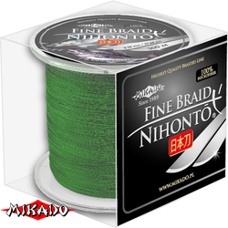 "Плетеный шнур ""Mikado"" NIHONTO GREEN 0,14 (300м)"
