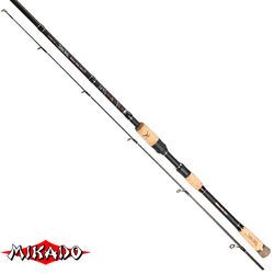 "Спининг штекерный ""Mikado"" SAKANA HANTA Medium Heavy Spin 270 ( 10-30 гр.) Carbon"