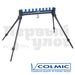 AP00013 Подставка-гребенка EASY для 9 удилищ c ногами