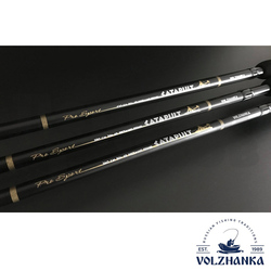 Фидер Volzhanka Pro Sport Catapults 12ft 50+ 3.6м  (3секции+3) тест 50+гр