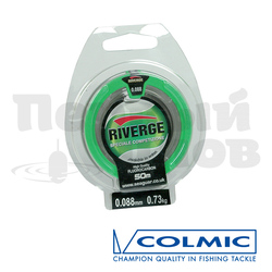 "Леска  RIVERGE ""COLPO"" мт.50   0,080 - 0,61кг  флюорокарбон (КUREHA)"