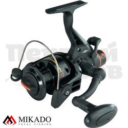 Катушка безынерционная Mikado INTRO RUNNER 4004 RD (3+1 подш.; 5,0 :1) бэйтраннер