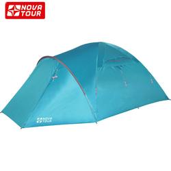 """Палатка четырехместная """"Терра 4 V2"""" без юбки"""