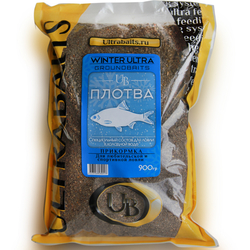 "Прикормка ULTRABAITS ""WINTER ULTRA"" (ПЛОТВА) 900гр"
