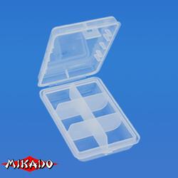 Коробочка рыболовная Mikado ABM 002 (9.7 x 6.6 x 2.5 см.)