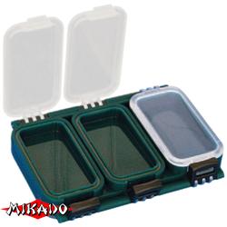 Коробочка рыболовная Mikado ABM 005 (11.5 x 7.9 x 2.2 см.)