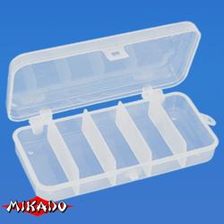Коробочка рыболовная Mikado ABM 008 (13.2 x 6.2 x 2.5 см.)