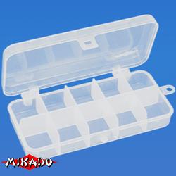 Коробочка рыболовная Mikado ABM 009 (13.2 x 6.2 x 2.5 см.)