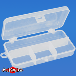 Коробочка рыболовная Mikado ABM 010 (13.3 x 6.2 x 2.5 см.)