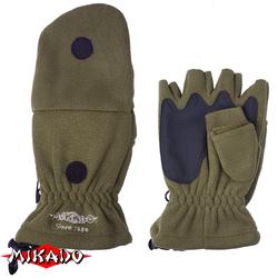Перчатки флисовые Mikado UMR-08G, р-р M