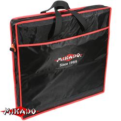 Сумка для перевозки садков Mikado квадратная 1 секция (63 х 17 см.) чёрный-красный