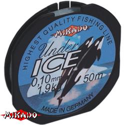 Леска мононить Mikado UNDER ICE 0,08 (50 м) - 1.20 кг.