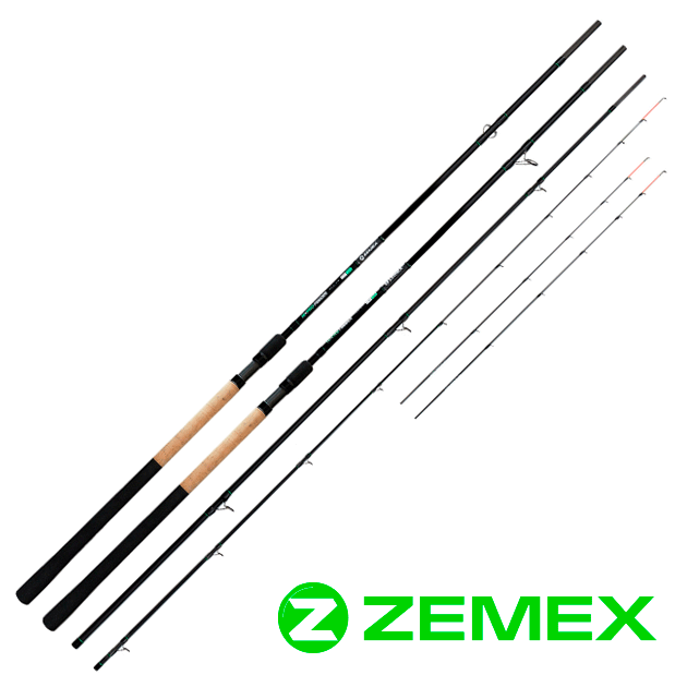 "Удилище фидерное ZEMEX ""HI-PRO FEEDER"" 13 ft до 120,0 гр."