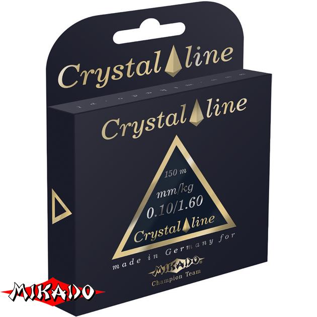 Леска мононить Mikado CRYSTAL LINE 0,40 (150 м) - 14.60 кг.